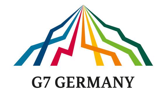 Logo zur G7 - Präsidentschaft