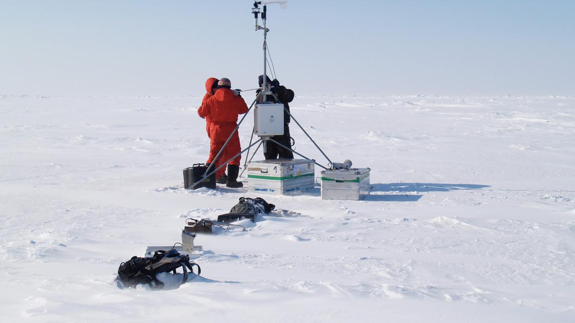 Winterexpedition auf der Laptewsee