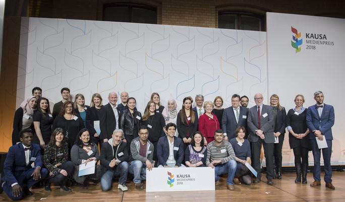 Die Nominierten und Gewinner der Kausa-Medienpreise 2018