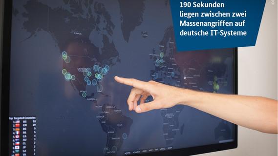 190 Sekunden liegen zwischen zwei Massenangriffen auf deutsche IT-Systeme