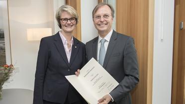 Bundesministerin Anja Karliczek ernennt Thomas Rachel zum Parlamentarischen Staatssekretär