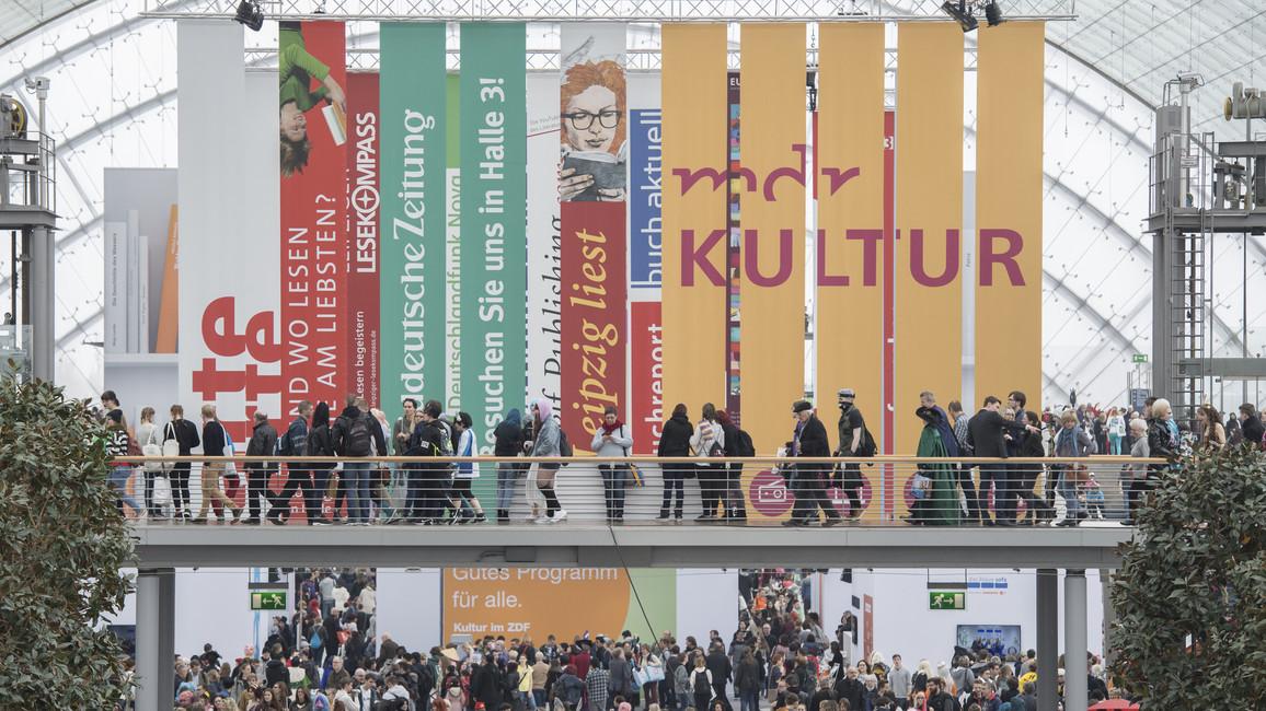 Poster zum Video AlphaDekade auf der Leipziger Buchmesse