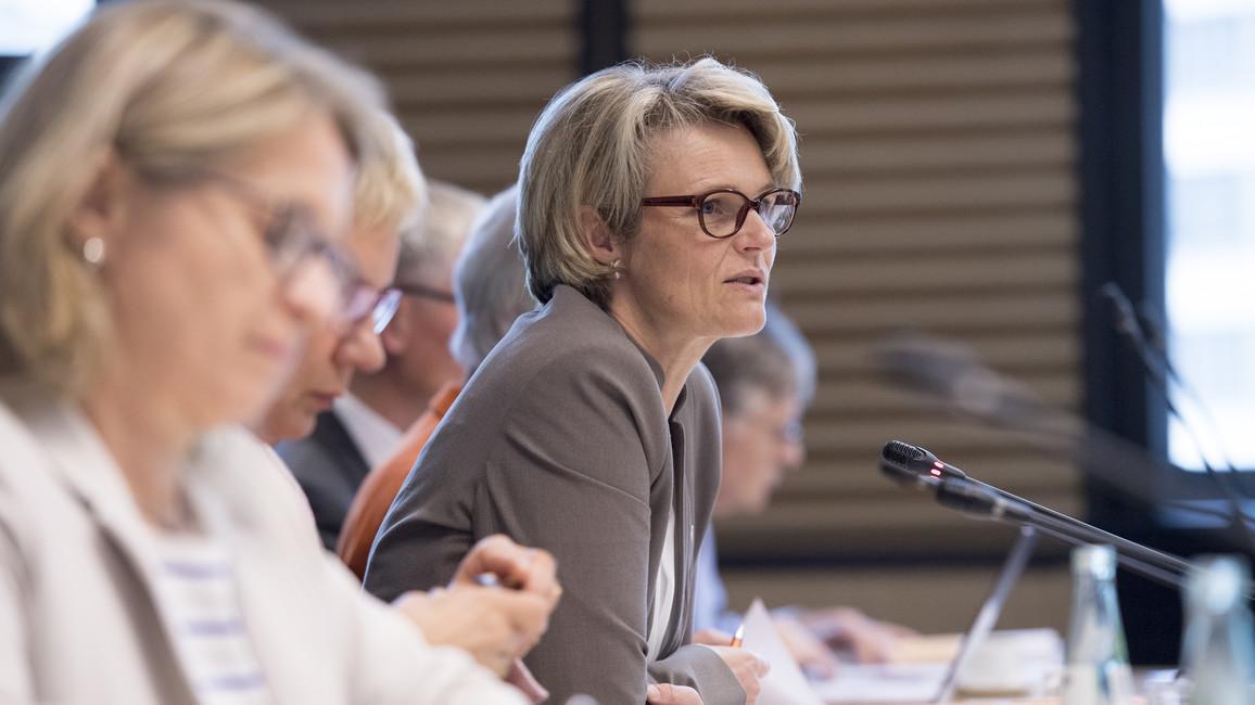 In Berlin tagte erstmals unter Vorsitz von Bundesministerin Anja Karliczek die GWK