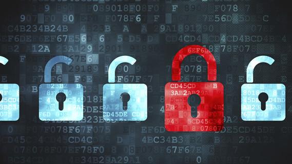 Sicherheitskonzept: Sichern digitalen Hintergrundes