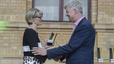 Die Alexander von Humboldt-Professur 2018 für Wil van der Aalst. Er arbeitet zukünftig an der RWTH Aachen.