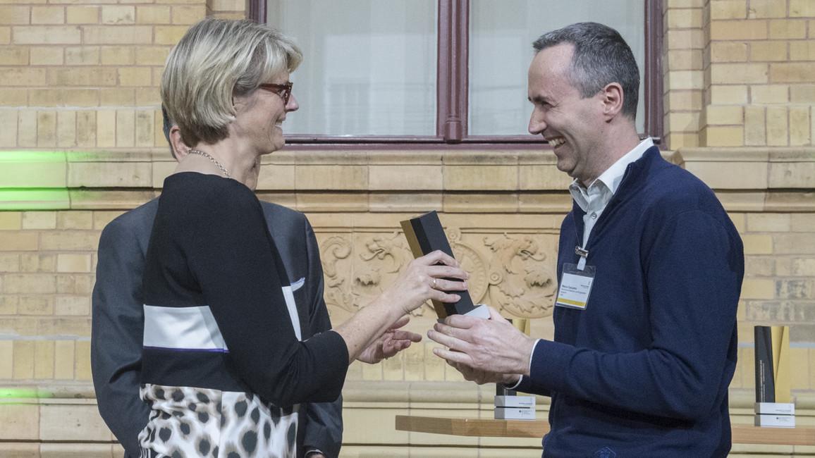 Die Alexander von Humboldt-Professur 2018 für Marco Caccamo. Er arbeitet zukünftig an der TU München.