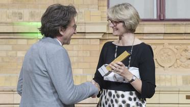 Die Alexander von Humboldt-Professur 2018 für Michael H. Sieweke. Er arbeitet zukünftig an der TU Dresden.