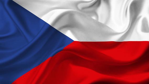 Nationalflagge der Tschechischen Republik