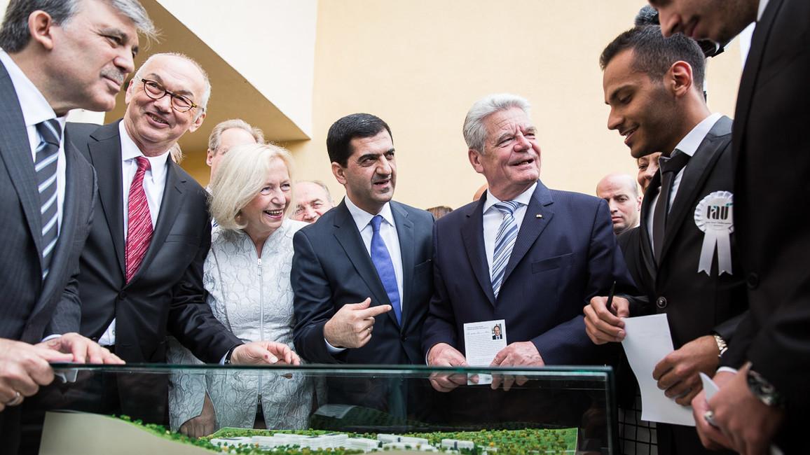 Eröffnung der Türkisch-Deutschen Universität in Istanbul