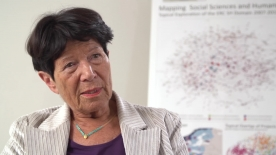 Poster zum Video Prof. Dr. Helga Nowotny, Wissenschaftsforscherin