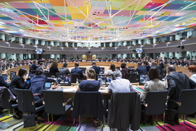 Blick in die Sitzung