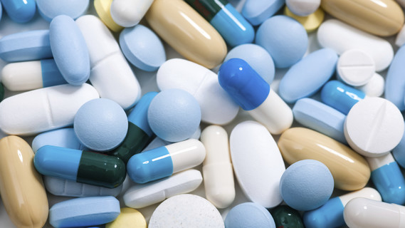 Verschiedene Arten von Tabletten