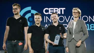 Der CEBIT Innovation Award 2018 geht an das Projekt AIPARK