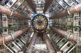 ATLAS-Detektor am Large Hadron Collider des Forschungszentrums Cern