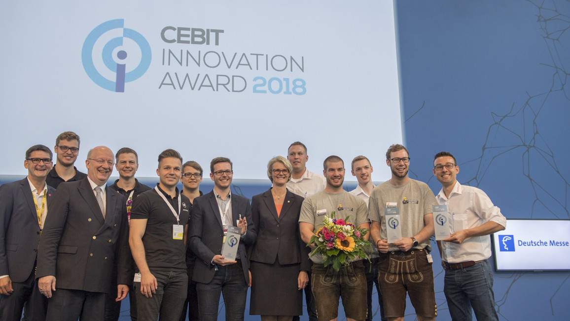 CEBIT Innovation Award 2018