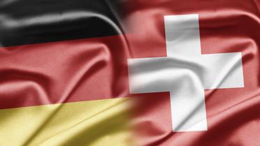 Flagge Deutschland und Schweiz