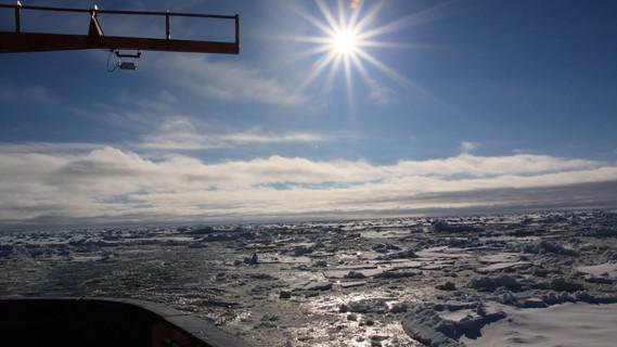 Impressionen vom Eis der Antarktis, aufgenommen während der Polarstern-Expedition ANT-XXIX/2