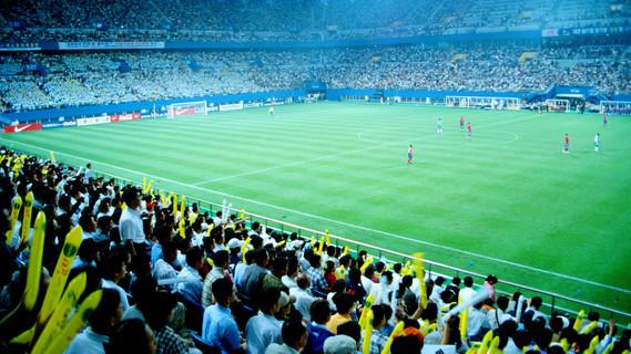 Sicherheit im Fußballstadion