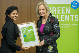 Femeena Pandara Valappil - ein Green Talent 2014