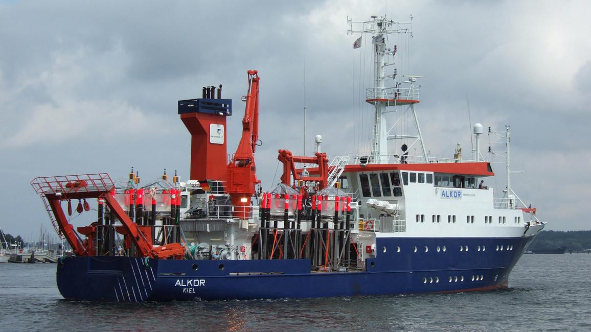 Forschungsschiff Alkor