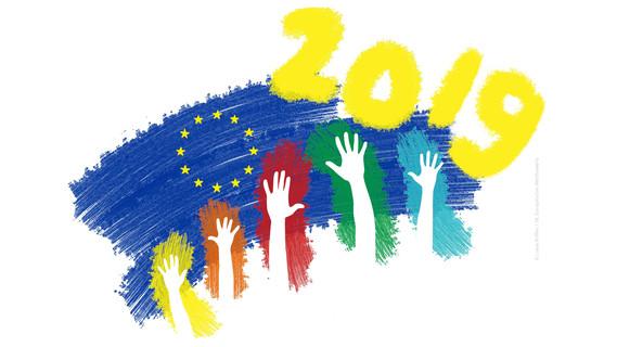 Plakatmotiv zum 65. Europäischen Schülerwettbewerb