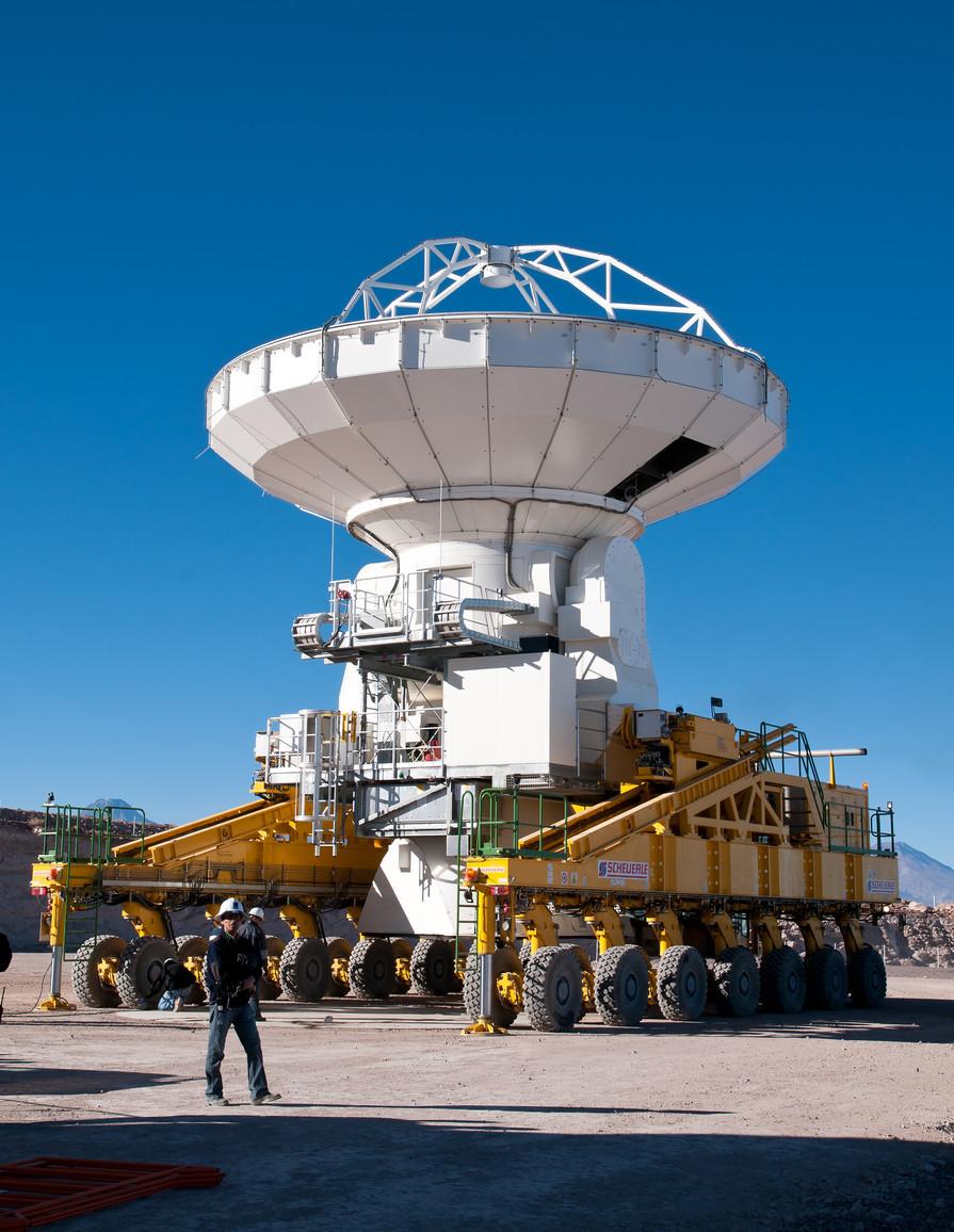 ALMA Transporter der ESO