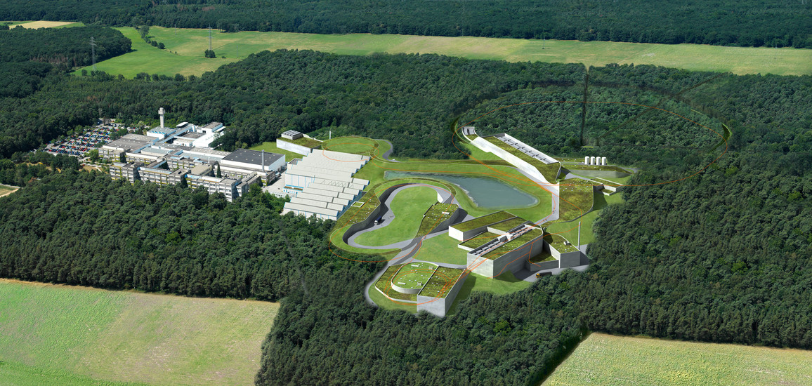 Beschleunigeranlage FAIR (Facility for Antiproton and Ion Research)