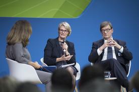 Bundesforschungsministerin Anja Karliczek und Otmar Wiestler diskutierten über die Herausforderungen des Forschungsstandorts Deutschland