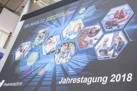In Berlin fand die Jahresveranstaltung der Helmholtz-Gemeinschaft statt.