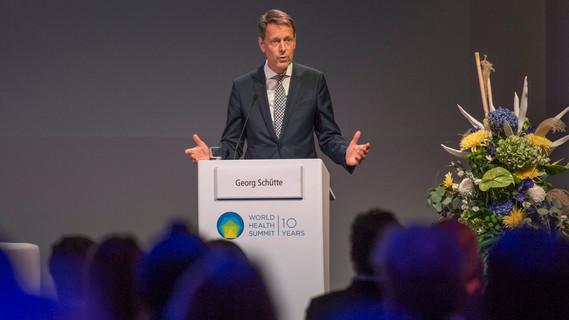 Georg Schütte, Staatssekretär im BMBF, während seiner Rede