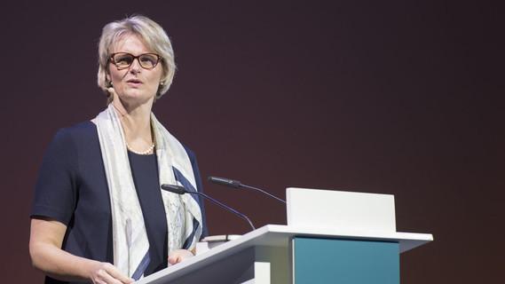 Anja Karliczek während ihrer Rede