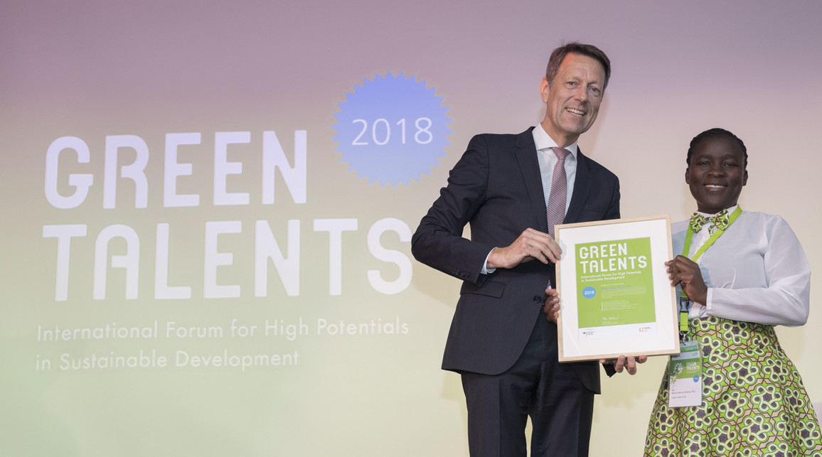 Green Talent 2018: Becky Nancy Achieng' ALOO, PhD student in Biodiversity and Ecosystems Management (Kenya)