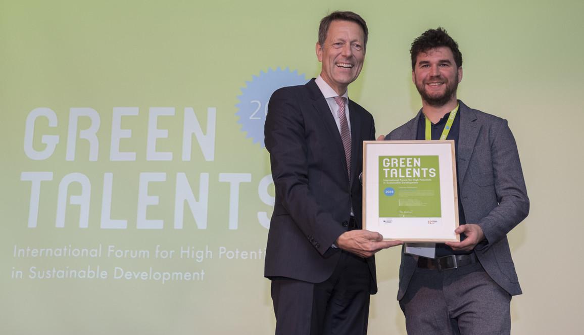 Green Talent 2018: Dr Jan BRUSSELAERS, Researcher in Bioscience Engineering (Belgium)