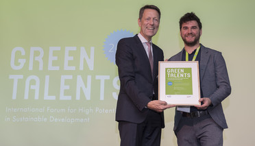 Green Talent 2018: Dr Jan BRUSSELAERS, Researcher in Bioscience Engineering (Belgium)