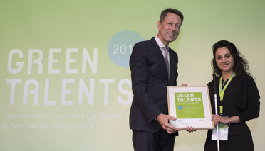 Green Talent 2018: Ozgul CALICIOGLU, PhD student in Environmental Engineering (Turkey)