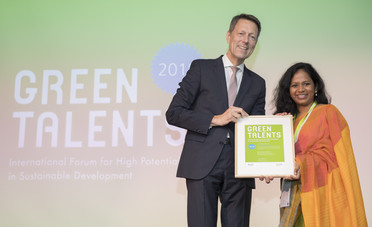 Green Talent 2018: Dr Randika JAYASINGHE, Head of the Department of Engineering Technology (Sri Lanka)