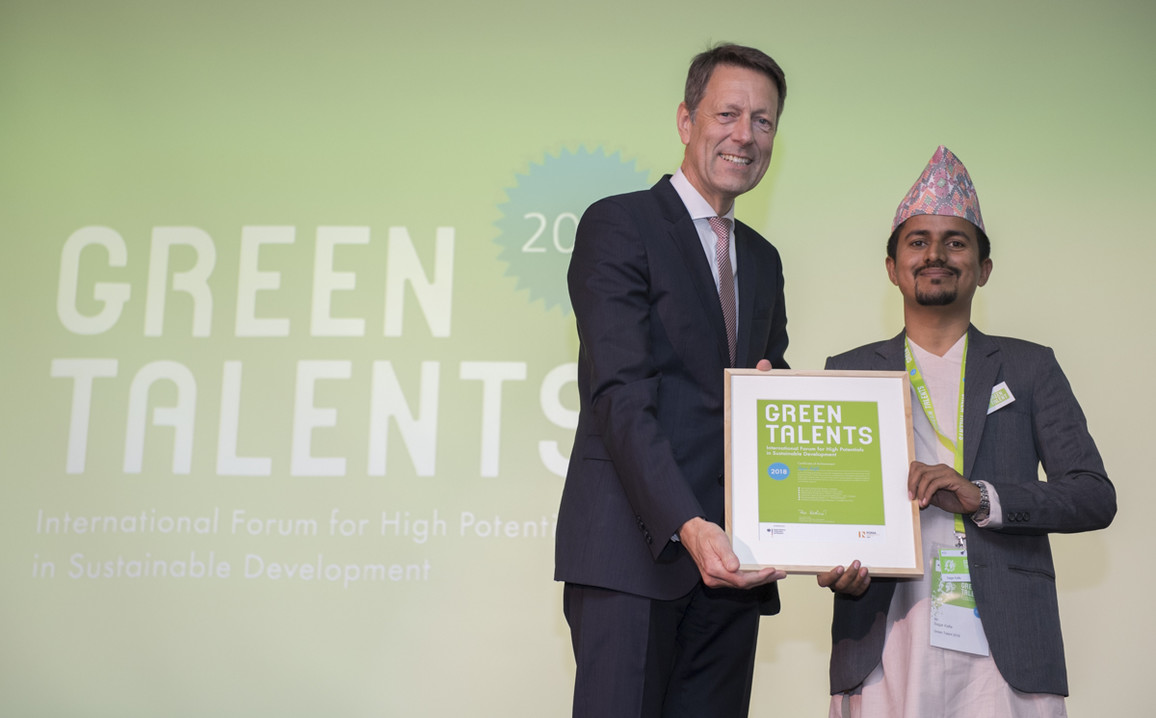 Green Talent 2018: Sagar KAFLE, Lecturer in Agricultural Engineering (Nepal)