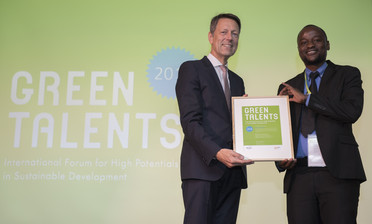 Green Talent 2018: Brigadier LIBANDA, PhD student in Atmospheric and Environmental Science (Zambia)