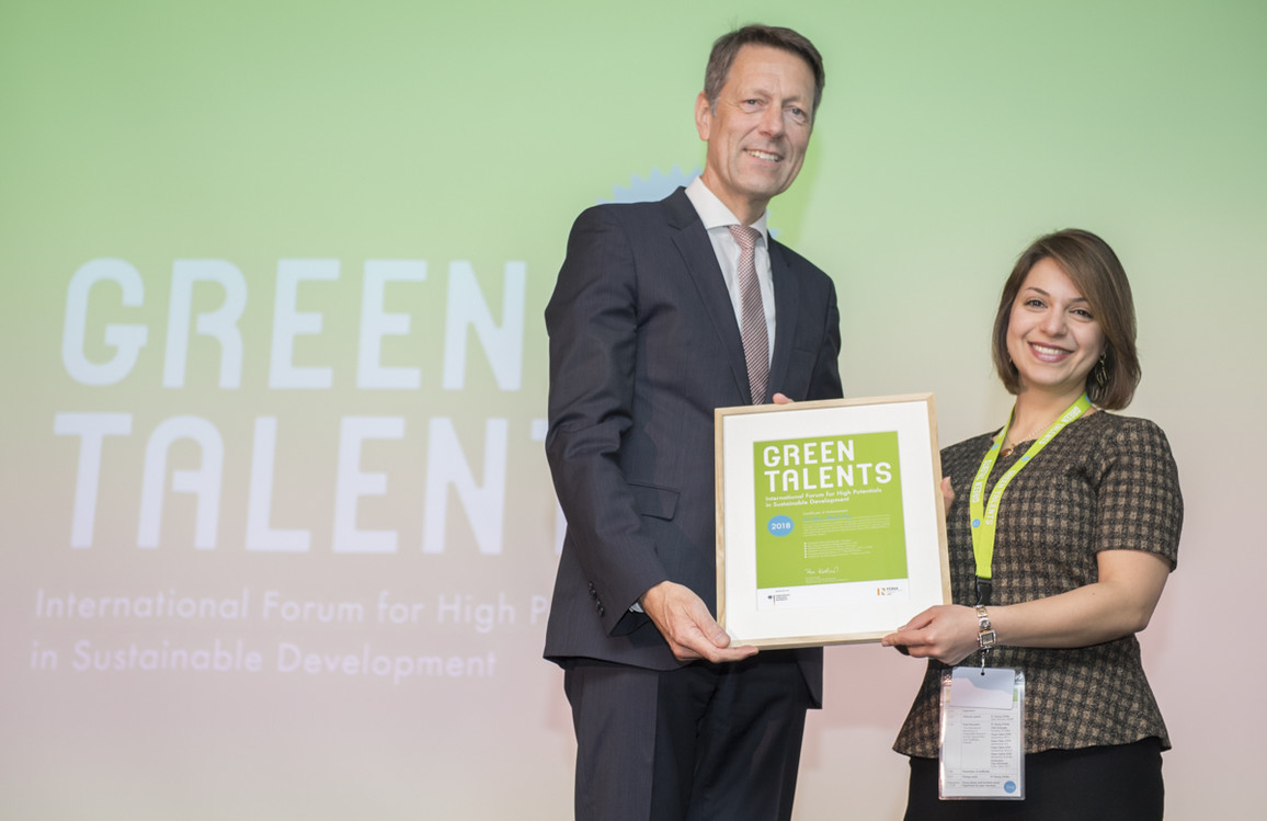 Green Talent 2018: Dr Shirin MALEKPOUR, Research Leader in Strategic Planning and Futures Studies (Australia)