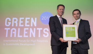 Green Talent 2018: Mark POLIKOVSKY, PhD student in Environmental Bioengineering (Israel)