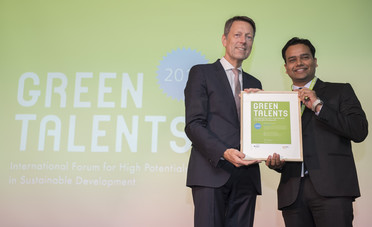 Green Talent 2018: Mohit SARAF, PhD student in Nanotechnology/Materials Science (India)