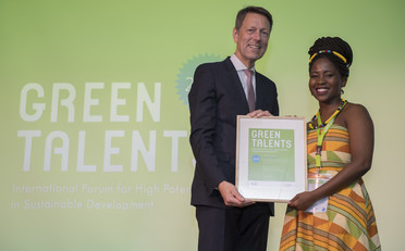 Green Talent 2018: Pheladi Venda TLHATLHA, MSc student in Environmental Management (South Africa)