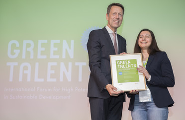 Green Talent 2018: Govhar VALIYEVA, Master's student in Environmental Policy and Management of Energy and Sustainability (Azerbaijan)