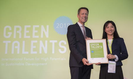 Green Talent 2018: Dr Di ZHOU, Researcher in Environmental Law (China)