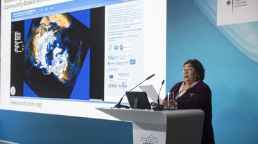 Monica Ell-Kanayuk aus Kanada beschreibt die Auswirkungen der Erderwärmung auf das Leben der Inuit in Kanada