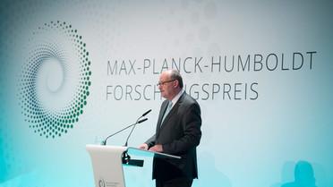 Michael Meister, Parlamentarischer Staatssekretär bei der Bundesministerin für Bildung und Forschung, während seiner Rede