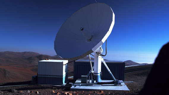 Satellitenanalge in der Atacamawüste (Chile)