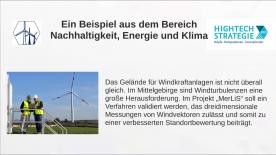 Poster zum Video Brückenschlag von der Forschung in die Anwendung – VIP+
