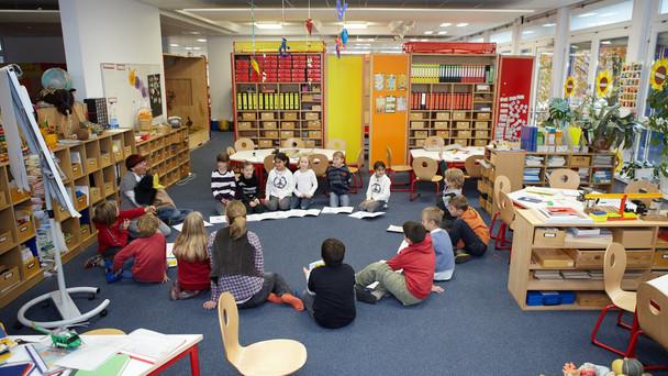 Blick in eine Schulklasse