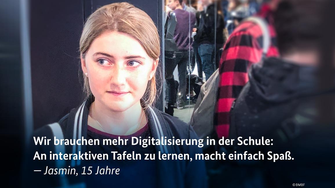 Jugendpressetag Zitat: Jasmin
